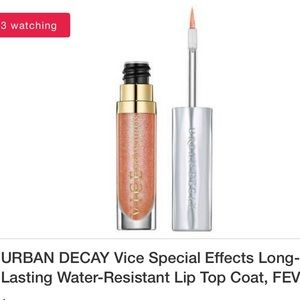 ⬇️Brand New Urban Decay Lip Topcoat - Fever